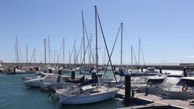 Las embarcaciones, esta mañana en Puerto América