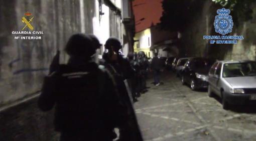 Noche de las detenciones. Se actuó de manera simultánea.