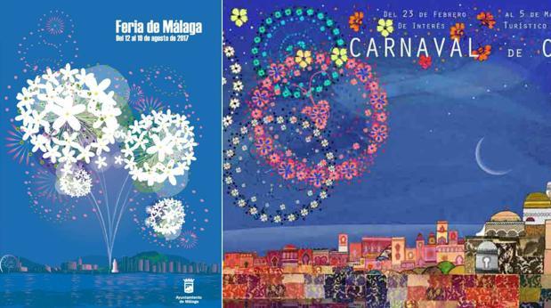 Es el cartel de la feria de m laga una copia del que for Feria outlet malaga 2017