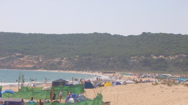 Playa de la Hierbabuena de Barbate