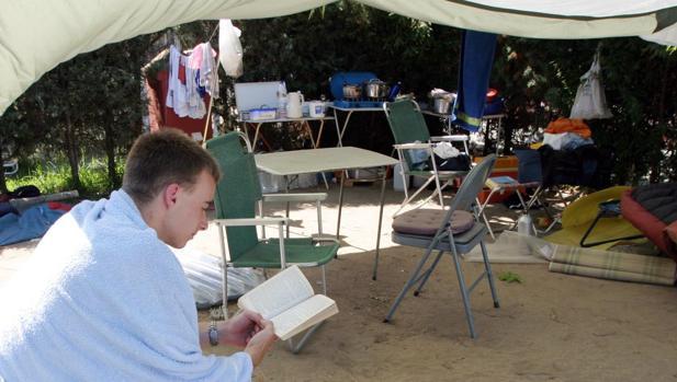 El camping de Tarifa es el más demandado con 5.394 visitantes.