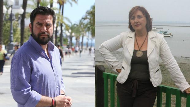 Fran González y María Jesús Castro.
