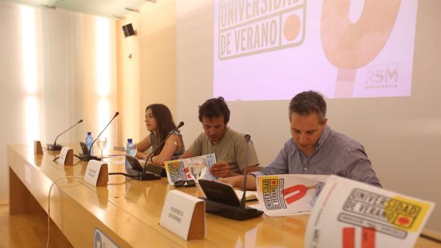 Kichi ha presentado el programa de la Universidad de verano de Podemos.