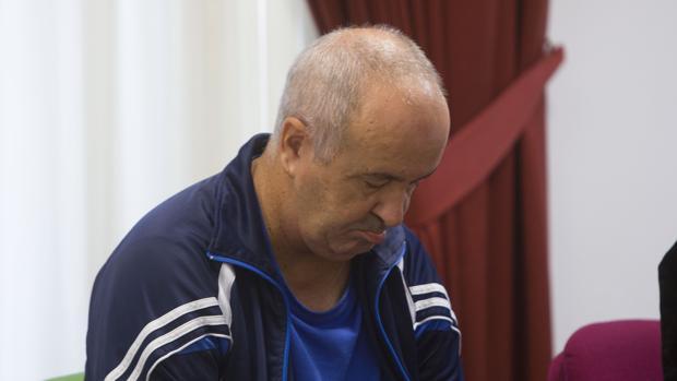 Juan Márquez, durante el juicio que se celebró en la Audiencia