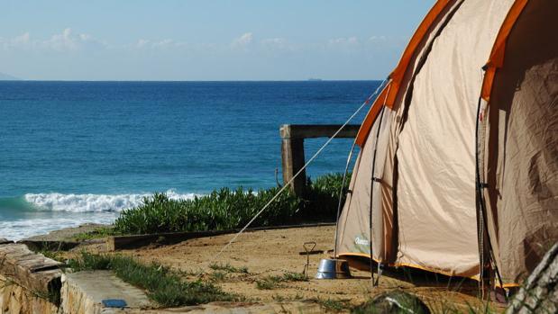 los diez mejores campings de la provincia de cádiz