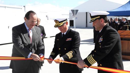 Inauguración en frebrero de 2016 de la zona industrial de la Base Naval