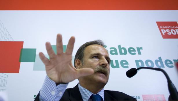 El diputado socialista, Salvador de la Encina