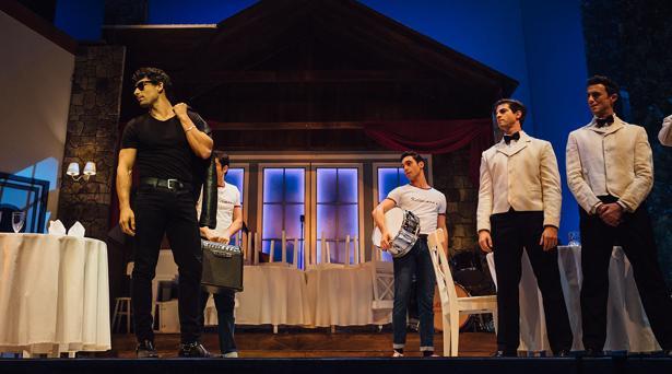 La representación de 'Dirty dancing' en el teatro