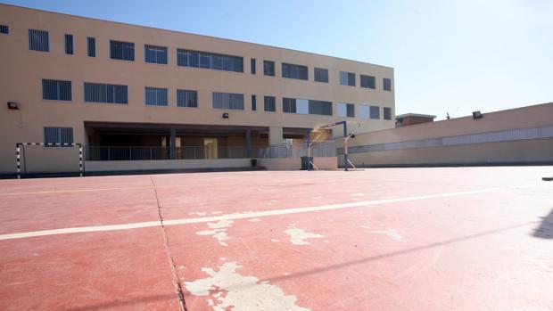 Patio del colegio La Unión, en Jerez.