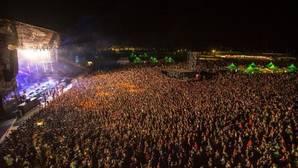 Imagen del festival en una edición celebrada en Costa Ballena