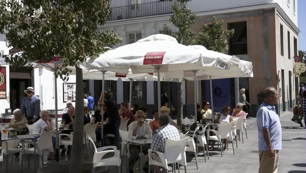 Terraza en Cádiz