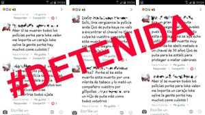 En libertad con cargos la detenida por insultar a la Policía de La Línea