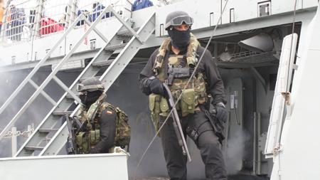Equipo EOS de Infantería de Marina.