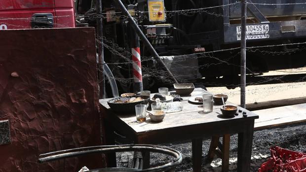 La explosión sorprendió a los trabajadores del hotel mientras comían
