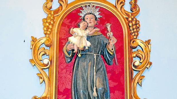 Imagen del Niño Jesús robado y recuperado