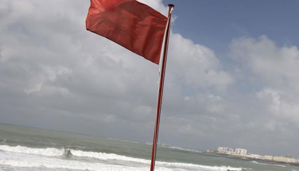 La bandera roja se ha decretado por precaución