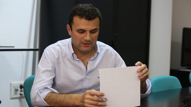 Bruno García, concejal del PP del Ayuntamiento de Cádiz
