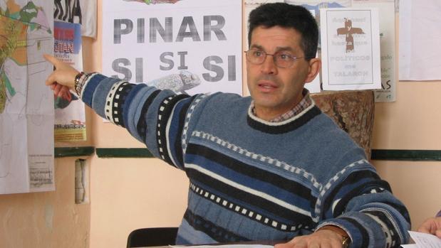 El ecologista Juan Clavero en una foto de archivo