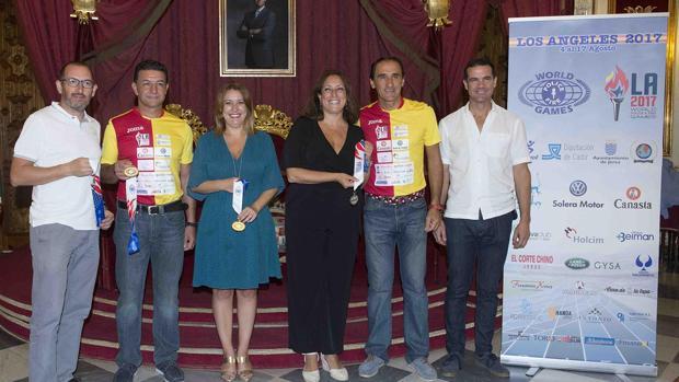 Los policías locales han sido recibidos en la Diputación de Cádiz