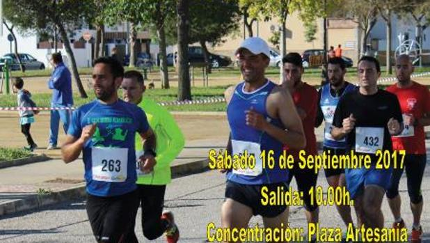 Guadalcacín celebra su I Carrera Popular de Otoño el próximo sábado