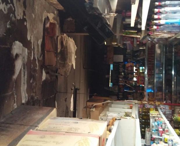 Incendio en un locutorio de Puerto Real