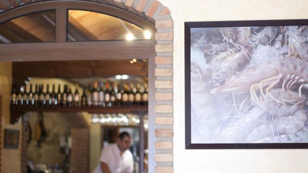 Imagen del interior de la Venta Aurelio.