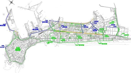 El trazado del carril bici al completo se puede consultar en la web www.carrilbicicadiz.es