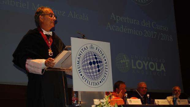 Gabriel Pérez Alcalá, rector de la Loyola Andalucía