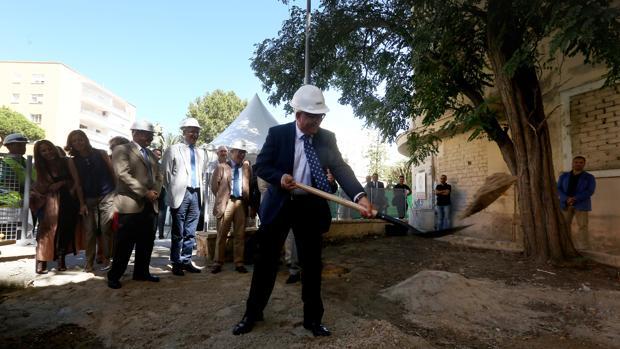 El vicepresidente Jiménez Barrios inicia de manera oficial las obras