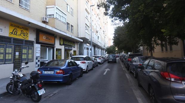 Calle Medina Sidonia, donde se produjo la agresión.