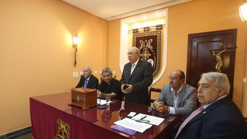 Martín José García en su despedida.