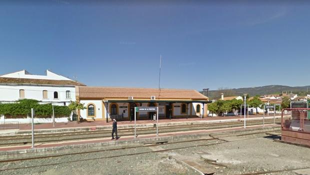 Estación de ferrocarril en Jimena