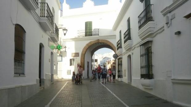 Arco de Conil, donde se vendieron buena parte de los boletos.