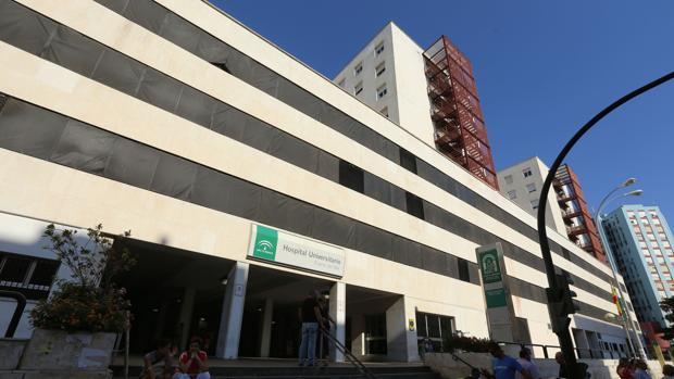 Exterior del Hospital Puerta del Mar de Cádiz