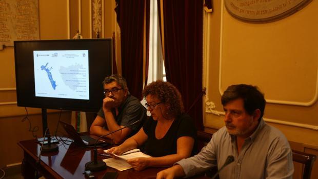 El equipo de Gobierno ha presentado este miércoles el mapa de viviendas deshabitadas de la ciudad.