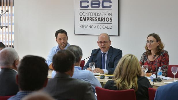 El presidente de la CEC, Javier Sánchez Rojas