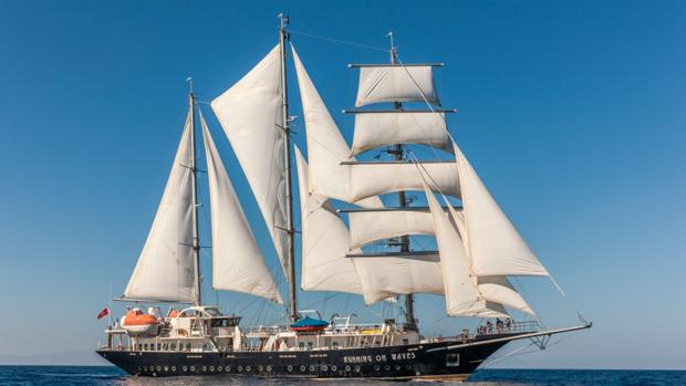 El velero 'Running Waves' llegará a Cádiz