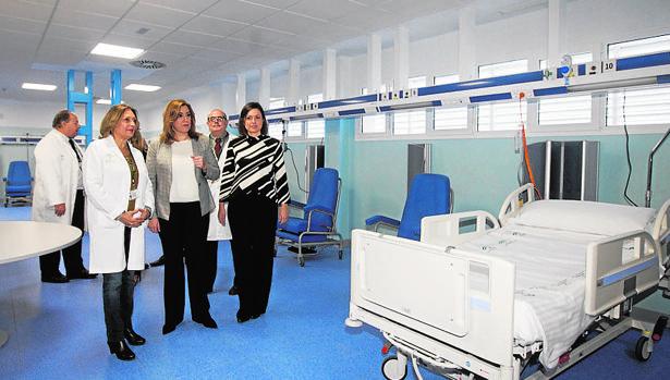 La presidenta andaluza, Susana Díaz, durante la inauguración