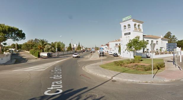 Carretera de la Barrosa