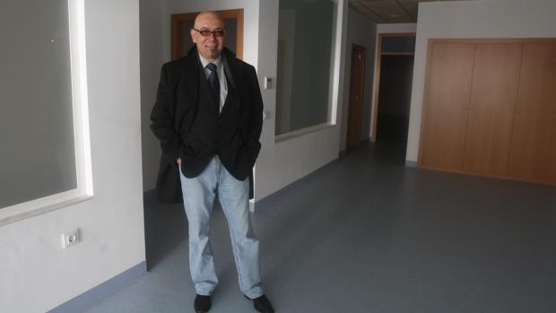 El expresidente de ARCA, Alberto Matilla, en el local
