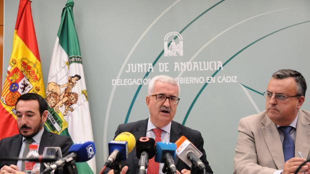 Jiménez Barrios durante la presentación de las cuentas el año pasado