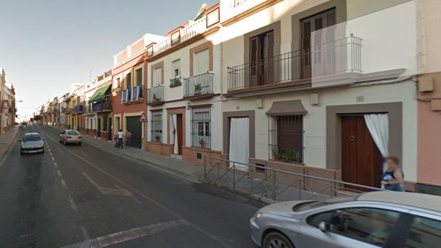 La calle Corredera del Viso del Alcor, donde se produjeron los hechos