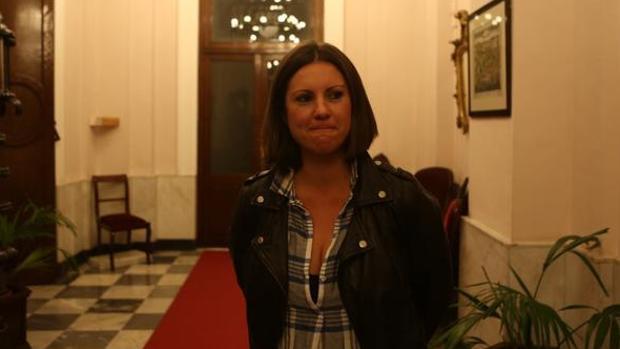 María Fernández-Trujillo, el día que anunció su dimisión de Onda Cádiz.