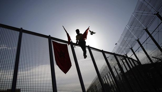 Frontera de Marruecos con Melilla