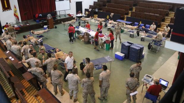 La campaña de donación se ha desarrollado en las instalaciones del TEAR.
