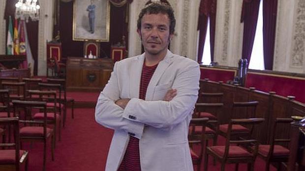 El alcalde de Cádiz, José María González, Kichi.