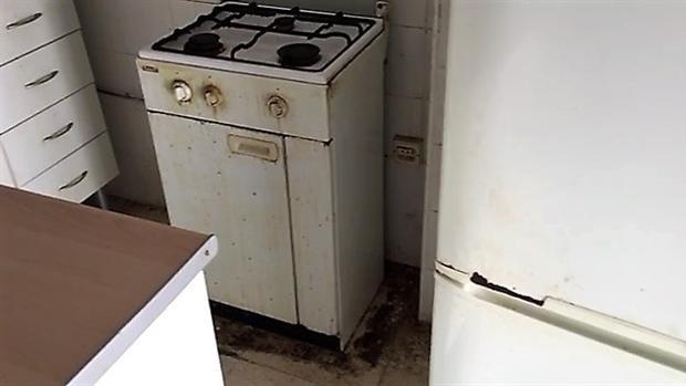 Estado de la cocina del inmueble.