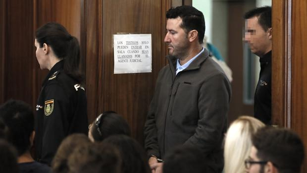 Manuel Rodríguez durante una de las sesiones del juicio