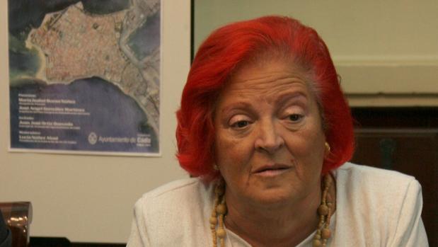 Lucía Núñez fue presidenta de la federación Cadice.