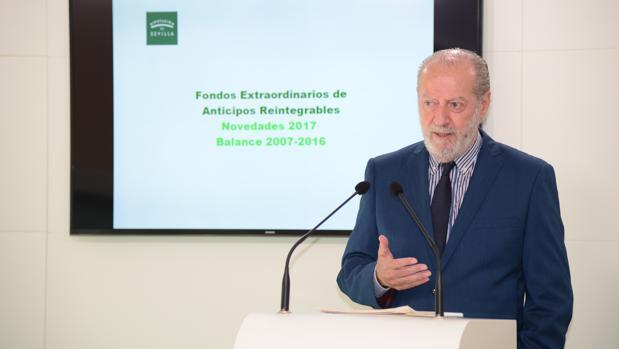 La Diputación de Sevilla prestará a coste cero más de 46 millones de euros a 47 municipios de la provincia